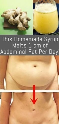 Incredible, This Homemade Syrup Melts 1 cm of Abdominal Fat Per Day! | Fitness Experts Club