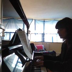 """All of Me"" John Legend - piano cover by Michelle B"