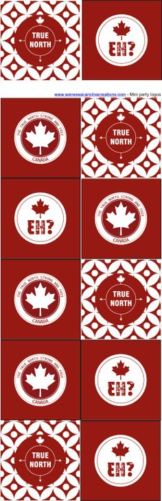 CANADA DAY {LOVE THE LEAF} FREE PRINTABLES Canada Day 150, Canada Day Party, O Canada, Canada Logo, Canadian Party, I Am Canadian, Canada Day Crafts, Canada Tattoo, Canada Holiday