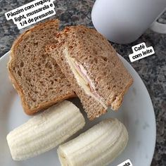 Breakfast Toast Recipes Low Carb Ideas For 2019 Quick Snacks For Kids, Eating For Weightloss, Breakfast Toast, Food Club, Easy Cooking, Good Food, Food And Drink, Recipes, Banana Prata