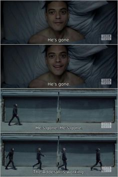and then he returned... // Mr. Robot