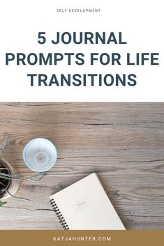 Creative work can help you with life transitions. Journaling as proved to have the same psychological effects as talking to a therapist. This article gives you 5 journal prompts to help you deal with your life transition Journal Prompts For Teens, Journal Writing Prompts, Journal Ideas, Definition Of Self, Self Development, Personal Development, Psychological Effects, Life Transitions