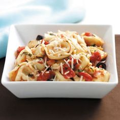 Herbed Artichoke Cheese Tortellini Recipe from Taste of Home -- shared by Karen Anzelc of Peoria, Arizona