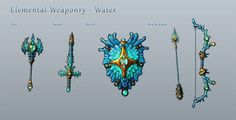 Elemental Weaponry - Water by Hazzard65