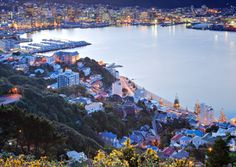 Wellington, New Zealand - apparently one of the World's Most Romantic Cities ;).