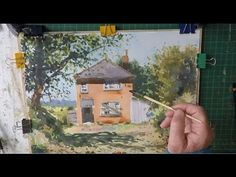 Watercolour Step by Step Abandoned Cottage Studio Version - YouTube