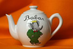 Babar teapot!!!!!!!! SOMEONE NEEDS TO BUY THIS FOR ME!