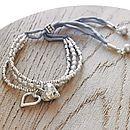 Personalised Silver Pearl Friendship Bracelet - Kathy Jobson - notonthehighstreet