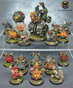 Bloodbowl Dwarf Team