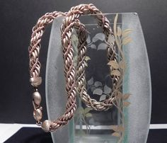 Vintage Monet Double Chain Twisted Rope Chocker by GemmaBejeweled, $13.00