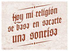 Mi Religión by Alfredo Berca, via Behance