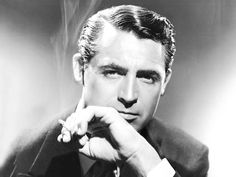 Cigarette or no cigarette, Cary Grant is quite charming.