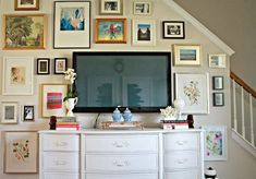 art wall to disguise TV