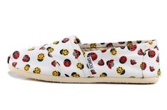 Coccinella Septempunctata Canvas Women Shoes