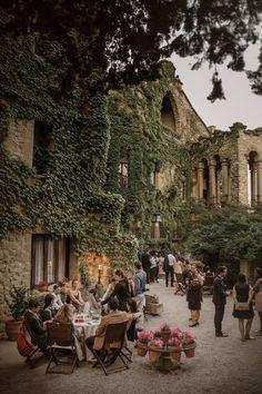La Baronia venue is Barcelona Places To Travel, Travel Destinations, Places To Go, Travel Europe, Holiday Destinations, Northern Italy, Jolie Photo, Wedding Locations, Wedding Venues