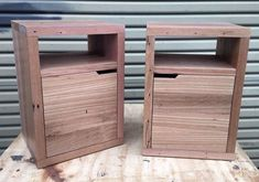 Recycled Timber Furniture, Custom Made Furniture, Recycled Wood, Furniture Making, Bedside, Hardwood, Recycling, Projects, Instagram