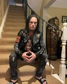 Dani Filth, Leather Pants, Punk, Jackets, Style, Fashion, Leather Jogger Pants, Down Jackets, Swag