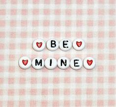 Letter Beads by ThisandThatCrafter on Etsy