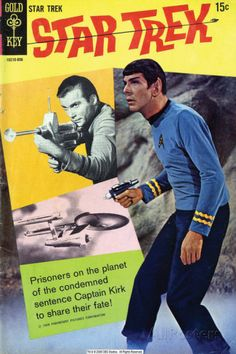 Star Trek: The Original Series Cover, Mr. Spock and Captain Kirk Fotografia na AllPosters.com.br