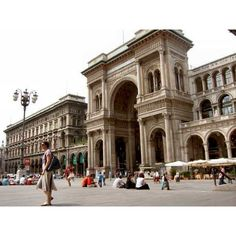 Fashion Capitals- Milan found on Polyvore featuring backgrounds, pictures, pics, photos and places