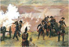 artillerie de la ligne 1805