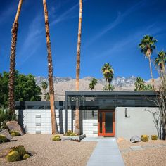 Twin Palms by William Krisel (1957) photo by @modarchitecture