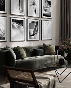 Small Space Design, Small Spaces, Desenio Posters, Online Posters, Cribs, Sweet Home, Interior Decorating, Gallery Wall, Photo And Video