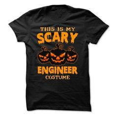 This is my scary Engineer costume Halloween T Shirts, Hoodie