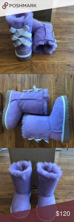 Brand New Bailey Bow UGG Boots Brand New Bailey Bow UGG Boots! Perfect Color for a girly girl!. UGG Shoes Boots