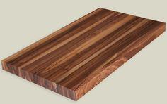 Hardwood lumber character walnut butcher block countertop