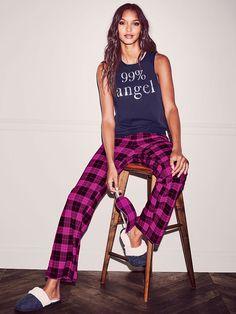 The Pillowtalk Tank Pajama - Victoria's Secret