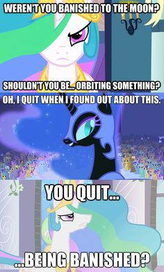 My Little Pony with Invader Zim quotes.  Magical!