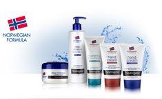 Neutrogena heeft een uitgebreid aanbod aan milde verzorgingsproducten voor de huid en het haar.