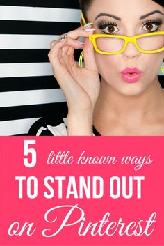 The Top 5 Little Known Ways to STAND OUT on Pinterest | Not sure what you should be doing on Pinterest to gain followers and increase recognition of your biz and brand? We've got you covered with the top 5 (little known) tips on how to increase your visibility on Pinterest! | pinterest tips | social media tips