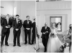 Jenny & Aaron Wedding #ceremony#bride#fatherofthebride#blackandwhite#wedding#firstlook http://coryandjackie.com/