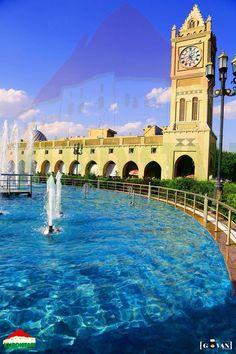 Shar park in Erbil kurdistan