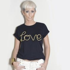 We love…  This cool slogan tee from ecoboutiqueshop.co.uk