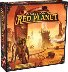 mission: red planet - board game - ingles