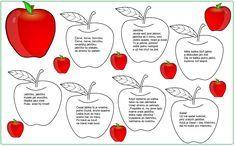 básnička o jablíčku Diy For Kids, Homeschool, Google, Day Care, Carnavals, Projects, Homeschooling