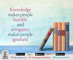 Wise Words (Quotation & Inspirations)  Knowledge makes people humble and…