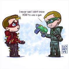 Arrow and Flash Arrow Cw, Arrow Oliver, Team Arrow, Roy Arrow, Arrow Roy Harper, Superhero Shows, Superhero Memes, Lord Mesa Art, Arrow Memes