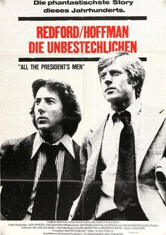 All the President's Men (1976) Original German A1 Movie Poster