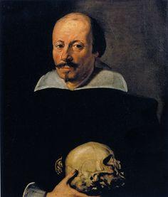 Portrait of the Surgeon Enea Fioravanti, Daniele Crespi, Milano, Castello Sforzesco