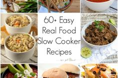 Easy real food slow cooker recipes