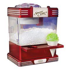 Retro Series Snow Cone Machine -