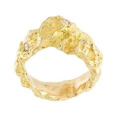 Orit Elhanati Orit Elhanati 'Rock' Diamond Ring ($8,965) ❤ liked on Polyvore featuring jewelry, rings, rock jewelry, diamond jewellery, round cut rings, diamond jewelry and round cut diamond rings