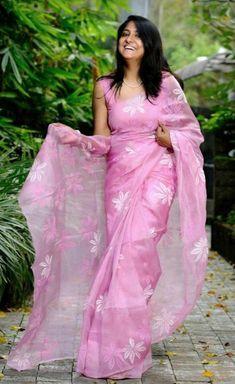 Pink Saree Silk, Baby Pink Saree, Organza Saree, Soft Silk Sarees, Chiffon Saree, Georgette Sarees, Handloom Saree, Cotton Saree Designs, Silk Saree Blouse Designs