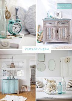 Coastal Style: Vintage Aqua Charm