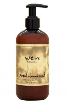 All about growing your hair out. WenSweetAlmondMintCleanser