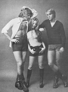 1972: Hot Pants & Boots — now that's a whole lotta look!